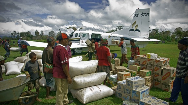 Aircraft from Hamilton-based Pacific Aerospace are used around the world to deliver aid.
