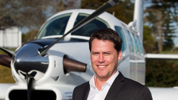 Damian Camp is the chief executive of Pacific Aerospace, Hamilton.